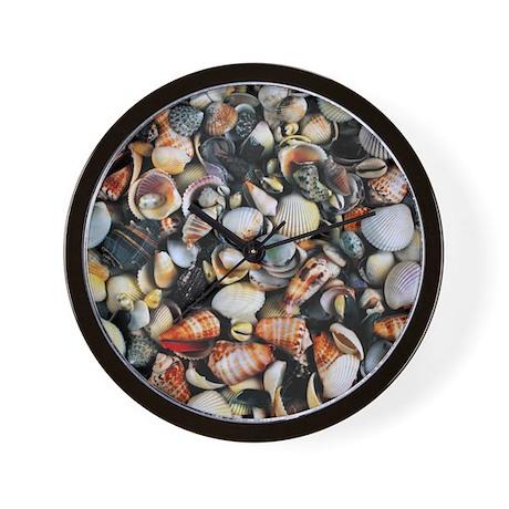 Seashells wall clock by natureslittletreasures for Seashell clock