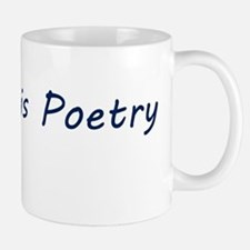 Code Is Poetry Mug Mugs