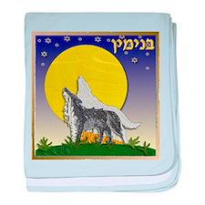 12 Tribes Israel Benjamin baby blanket