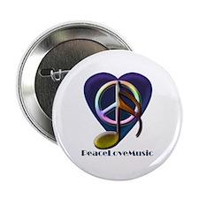 "Peacelovemusic3 2.25"" Button (10 pack)"