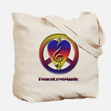 Peacelovemusic3 Tote Bag