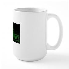 Kart Racer Neon Green Mug