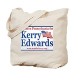 Western PA for Kerry Edwards Tote Bag