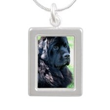Talan boy Silver Portrait Necklace