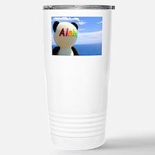 aloha panda Travel Mug