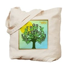 12 Tribes Israel Asher Tote Bag