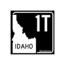 1T Highway Sign Black