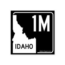 1M Highway Sign Black