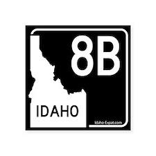 8B Highway Sign Black
