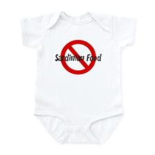 Anti Sardinian Food Infant Bodysuit