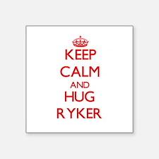 Keep Calm and HUG Ryker Sticker