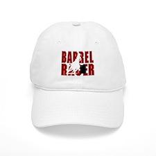 BARREL RACER [maroon] Baseball Cap