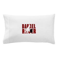 BARREL RACER [maroon] Pillow Case