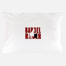 BARREL RACER [maroon] Pillow Case