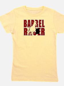 BARREL RACER [maroon] Girl's Tee
