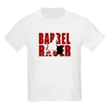 BARREL RACER [maroon] T-Shirt