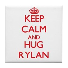 Keep Calm and HUG Rylan Tile Coaster