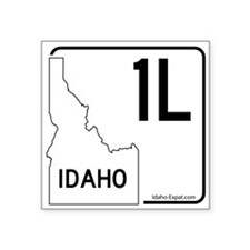 1L Highway Sign White