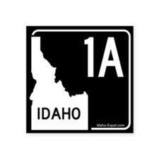 1A Highway Sign Black