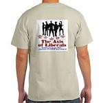 Axis of Liberals (Evil Conservative) Grey T-Shirt