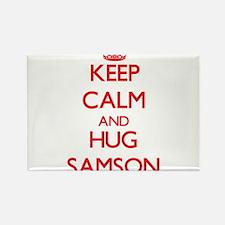 Keep Calm and HUG Samson Magnets