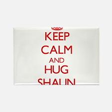 Keep Calm and HUG Shaun Magnets