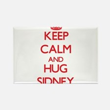 Keep Calm and HUG Sidney Magnets