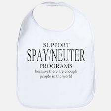 Support Spay/Neuter Programs Bib