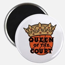 QUEEN OF THE COURT Magnet