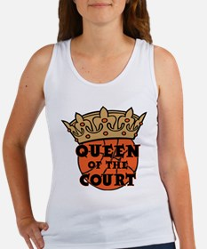 QUEEN OF THE COURT Women's Tank Top