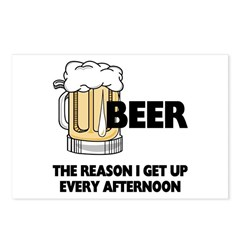 Beer Every Afternoon Postcards (Package of 8)