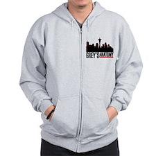 Skyline.png Zip Hoodie