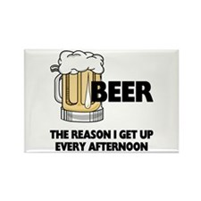 Beer Every Afternoon Rectangle Magnet