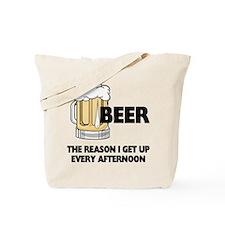 Beer Every Afternoon Tote Bag