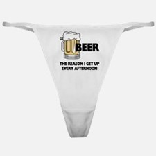 Beer Every Afternoon Classic Thong