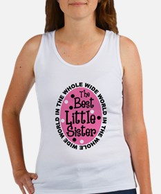Best Little Sister Women's Tank Top