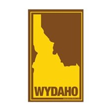 WYDAHO Map Brown