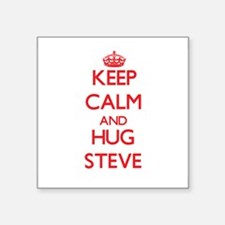 Keep Calm and HUG Steve Sticker