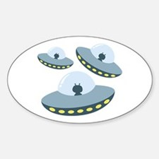 UFO Spacecrafts Decal