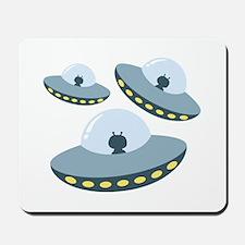 UFO Spacecrafts Mousepad