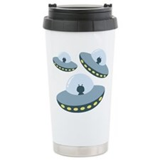 UFO Spacecrafts Travel Mug