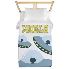 Out Of This WORLD Twin Duvet