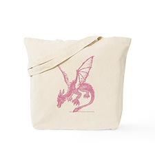 Pink Firedrake Tote Bag