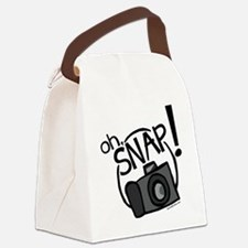 Oh, Snap! Canvas Lunch Bag