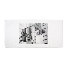 NY Broadway Times Square - Beach Towel