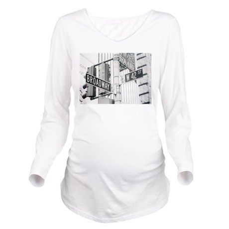 NY Broadway Times Square - Long Sleeve Maternity T