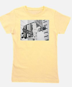 NY Broadway Times Square - Girl's Tee