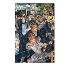 Dance at Le Moulin de la  Postcards (Package of 8)