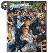 Dance at Le Moulin de la Galette by Renoir Puzzle