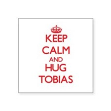 Keep Calm and HUG Tobias Sticker